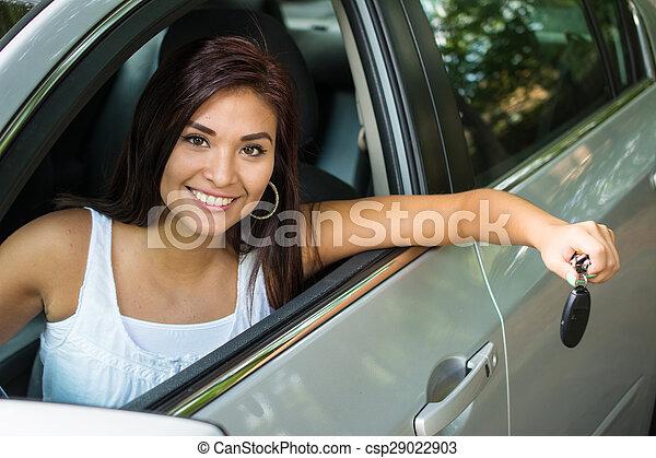αυτοκίνητο , οδήγηση  - csp29022903