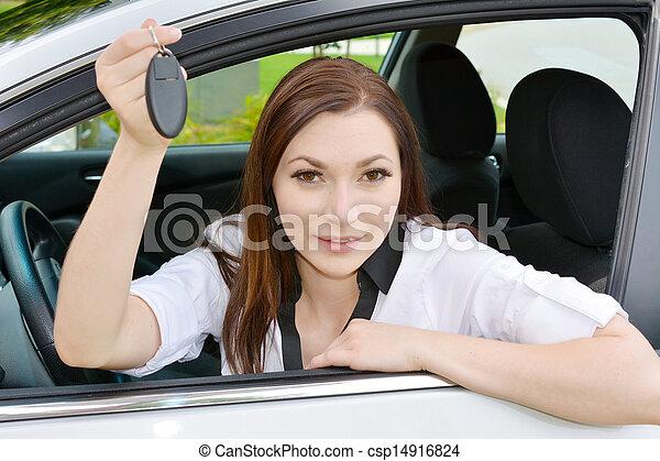 αυτοκίνητο , οδήγηση  - csp14916824