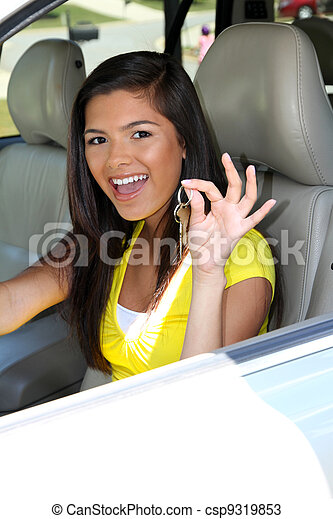 αυτοκίνητο , οδήγηση  - csp9319853