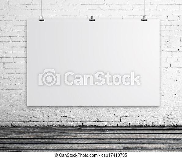 αφίσα , δωμάτιο  - csp17410735