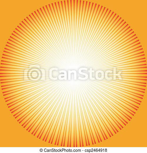 αφαιρώ , ξαφνική δυνατή ηλιακή λάμψη , φόντο , (vector) - csp2464918