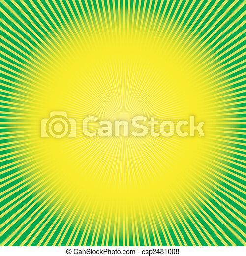 αφαιρώ , φόντο , green-yellow , (vector) - csp2481008