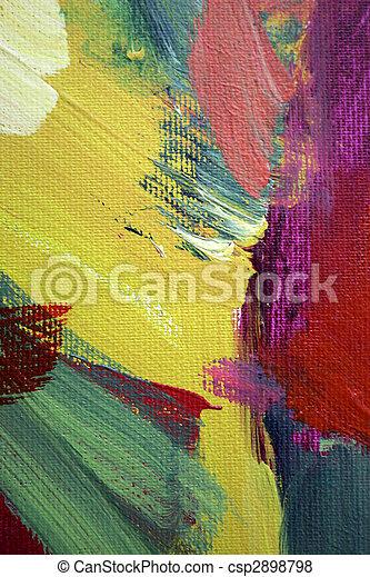 αφηρημένη τέχνη  - csp2898798