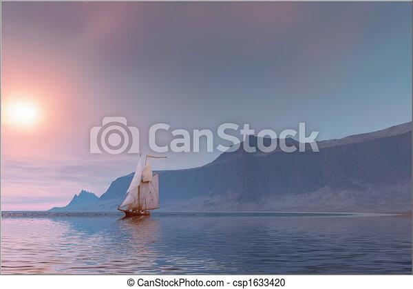 αύρα , θάλασσα  - csp1633420