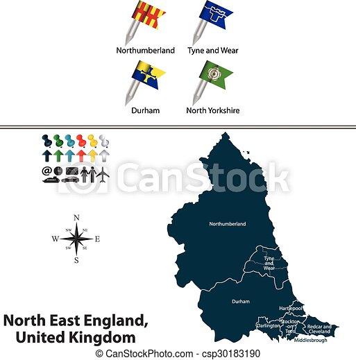 βασίλειο , ανατολή , ενωμένος , βόρεια , αγγλία  - csp30183190