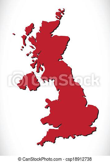 βασίλειο , χάρτηs , ενωμένος  - csp18912738