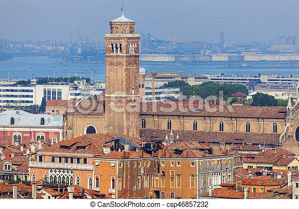 βενετία , αρχιτεκτονική  - csp46857232
