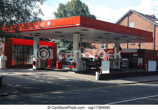 βενζινάδικο , μοντέρνος  - csp11394992