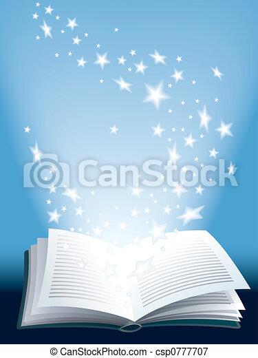 βιβλίο , μαγεία  - csp0777707