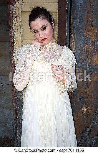 βικτωριανός , φόρεμα  - csp17014155