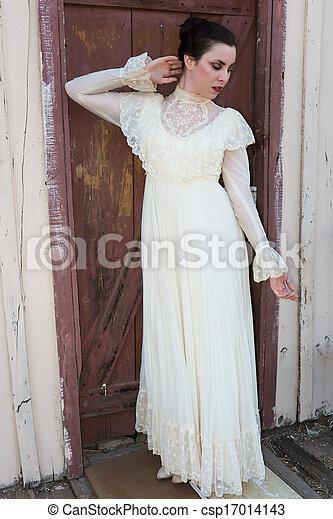 βικτωριανός , φόρεμα  - csp17014143