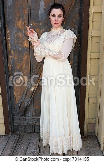 βικτωριανός , φόρεμα  - csp17014135