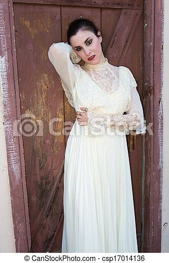 βικτωριανός , φόρεμα  - csp17014136