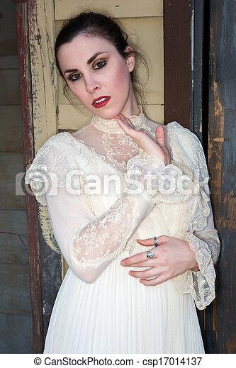 βικτωριανός , φόρεμα  - csp17014137