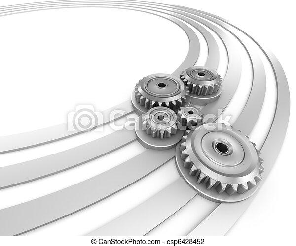 βιομηχανία , motion., αφαιρώ  - csp6428452