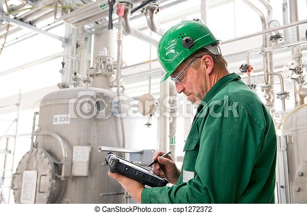 βιομηχανικός δουλευτής  - csp1272372