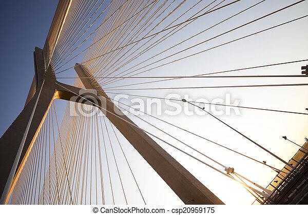 γέφυρα  - csp20959175