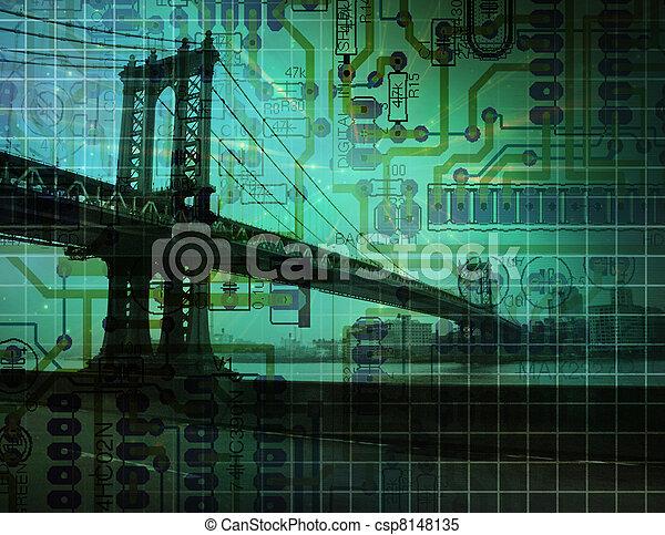 γέφυρα , ηλεκτρονικός  - csp8148135