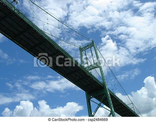 γέφυρα , κάτω από  - csp2484669
