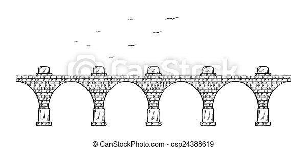 γέφυρα , πέτρα  - csp24388619