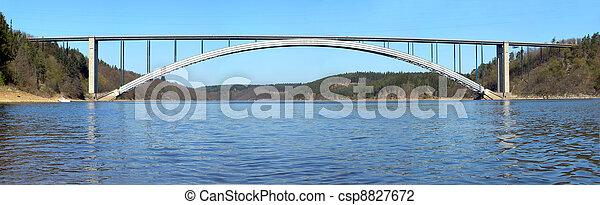 γέφυρα , ποτάμι , απέναντι  - csp8827672