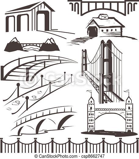 γέφυρα , συλλογή  - csp8662747