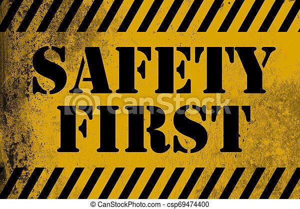 γαλόνι , ασφάλεια 1 , σήμα , κίτρινο  - csp69474400