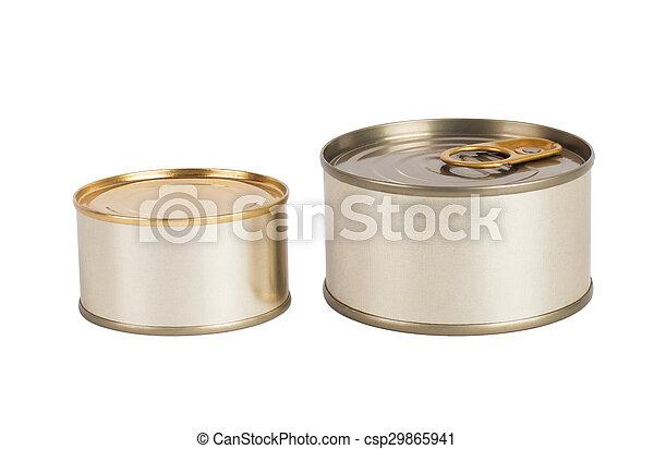 γανώνω cans  - csp29865941