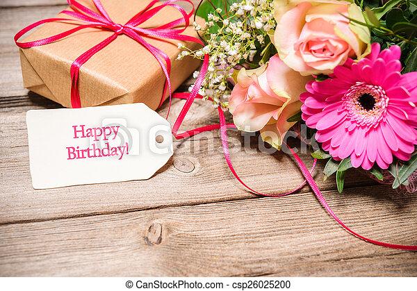 γενέθλια , ευτυχισμένος  - csp26025200
