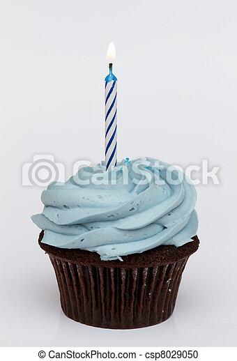 γενέθλια , πρώτα , cupcake  - csp8029050
