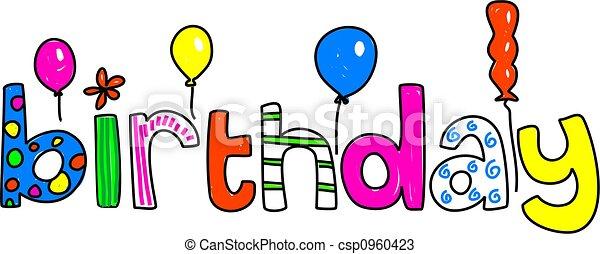 γενέθλια  - csp0960423