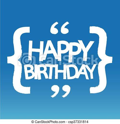 γενέθλια , σχεδιάζω , εικόνα , ευτυχισμένος  - csp37331814