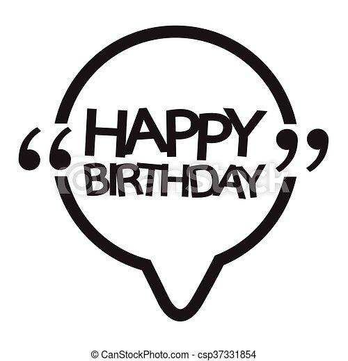 γενέθλια , σχεδιάζω , εικόνα , ευτυχισμένος  - csp37331854