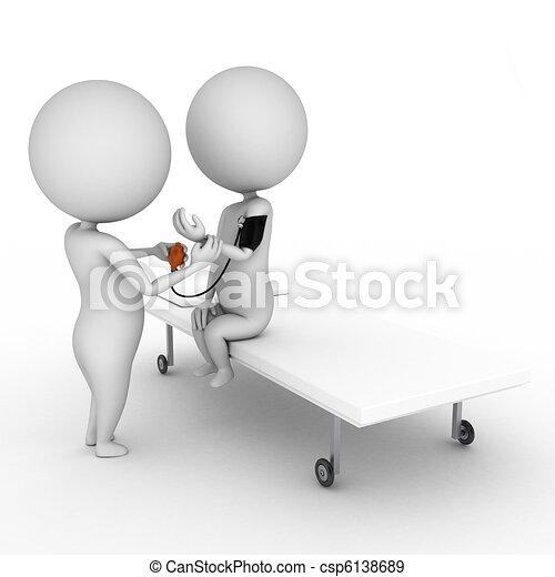 γενική εξέταση υγείας , ιατρικός  - csp6138689