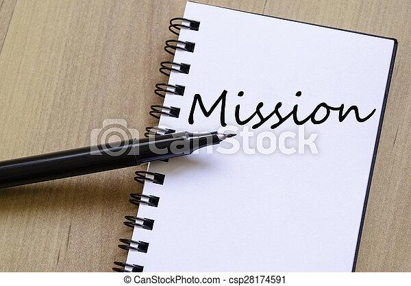 γενική ιδέα , αποστολή  - csp28174591