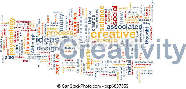γενική ιδέα , δημιουργικότητα , φόντο , δημιουργικός  - csp6887853