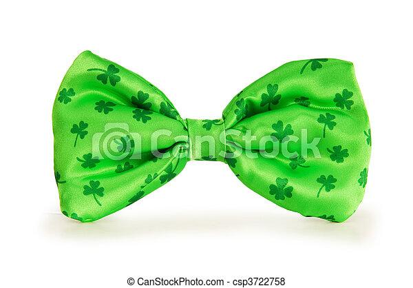 γενική ιδέα , πατρίκιος , st , πράσινο , δένω , δοξάρι , ημέρα  - csp3722758