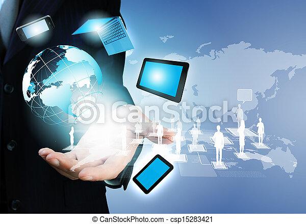 γενική ιδέα , τεχνολογία  - csp15283421