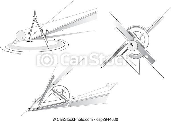 γεωμετρία , εργαλείο  - csp2944630