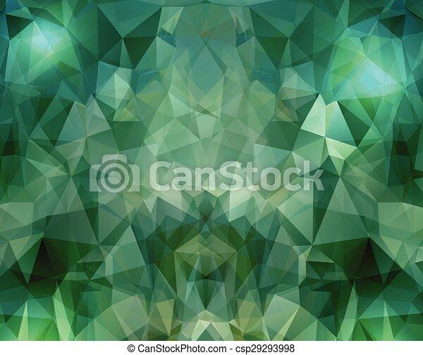 γεωμετρικός , πολύγωνο , φόντο  - csp29293998