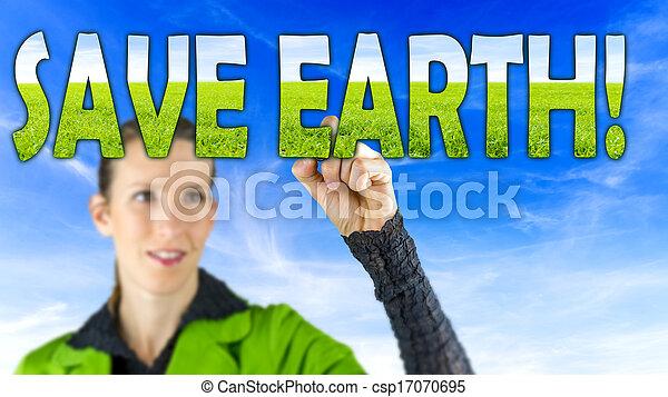 γη , αποταμιεύω  - csp17070695