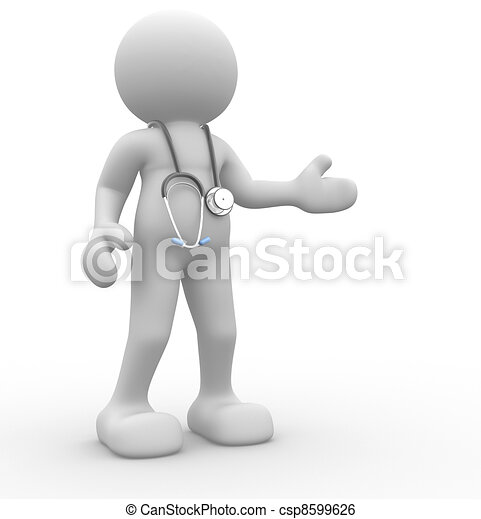γιατρός  - csp8599626