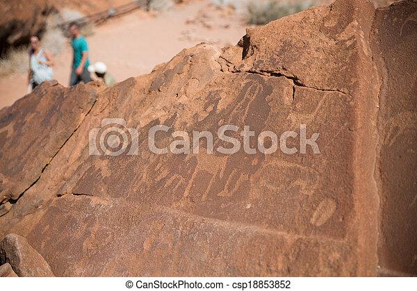 γκραβούρα , ιστορικός  - csp18853852