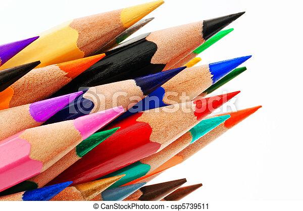 γράφω , άσπρο , μπογιά φόντο , πολοί  - csp5739511