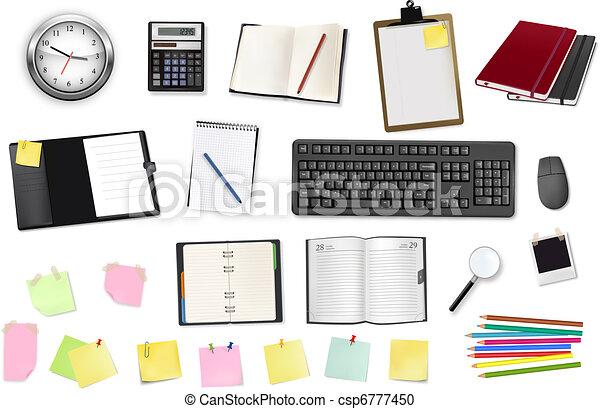 γραφείο , supplies., επιχείρηση  - csp6777450