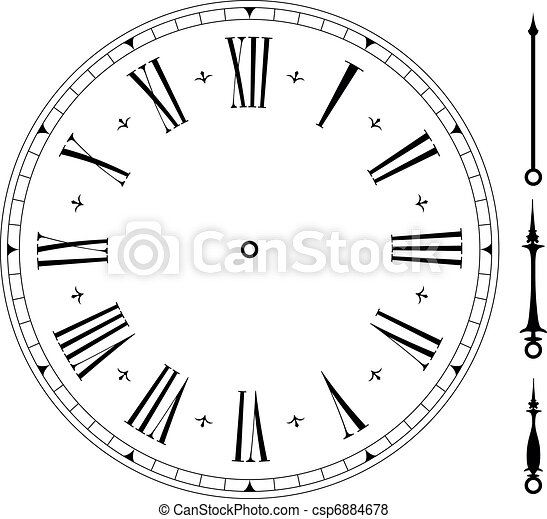 γριά , clock01 - csp6884678