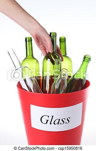 γυαλί , ανακύκλωση  - csp15950816