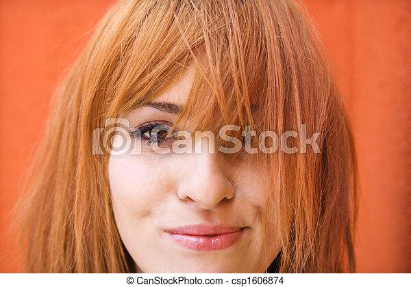 γυναίκα , εξάπτω , έκφραση  - csp1606874