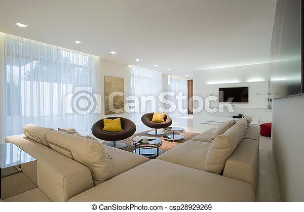 γωνία , αναπαυτικός , καναπέs  - csp28929269