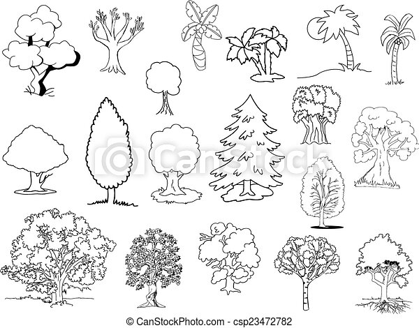 δέντρα  - csp23472782